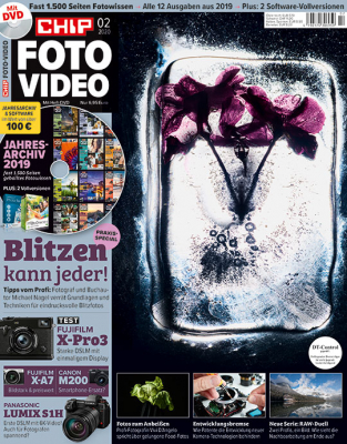 CHIP FOTO-VIDEO mit DVD 02/20