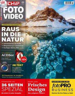 CHIP FOTO-VIDEO mit DVD 01/21