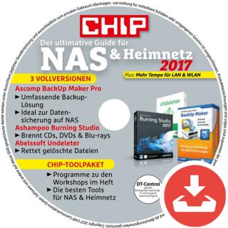 NAS & Heimnetz 2017 Heft-DVD Download