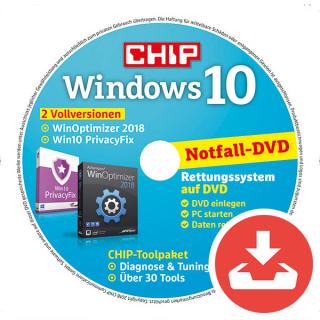 Windows 10 2018 Heft-DVD Download