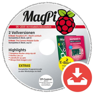 MagPi Heft-DVD 06/19 Download