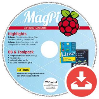 MagPi Heft-DVD 03/20 Download