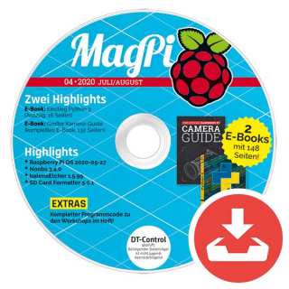 MagPi Heft-DVD 04/20 Download