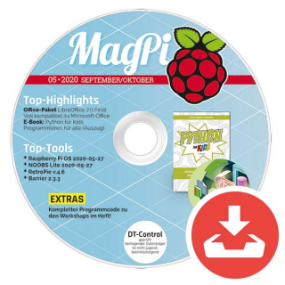 MagPi Heft-DVD 05/20 Download