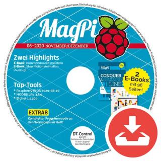 MagPi Heft-DVD 06/20 Download