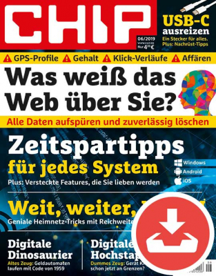 CHIP Magazin 06/19 Download