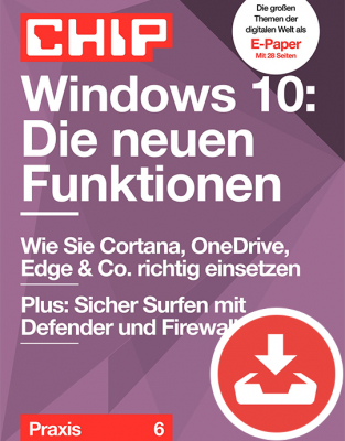 Windows 10: Die neuen Funktionen