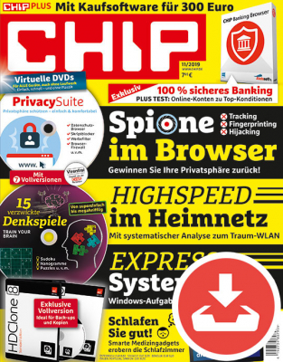 CHIP Magazin 11/19 Download
