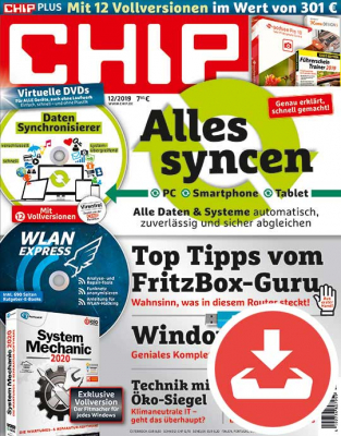 CHIP Magazin 12/19 Download