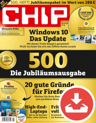 CHIP Magazin 08/20