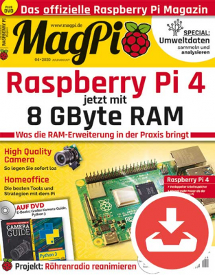 MagPi 04/20 Download
