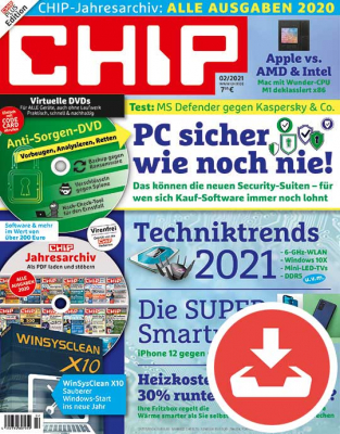 CHIP Magazin 02/21