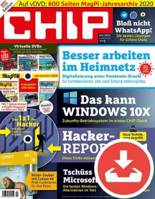CHIP Magazin 04/21