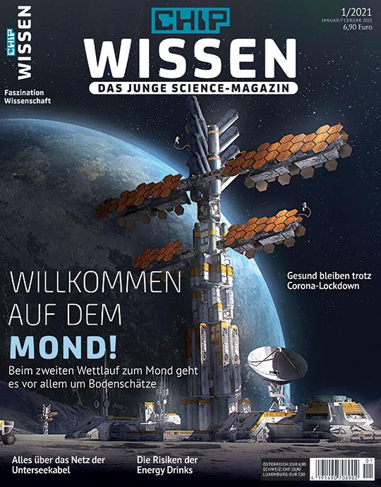 Chip Wissen - Willkommen auf dem Mond Cover