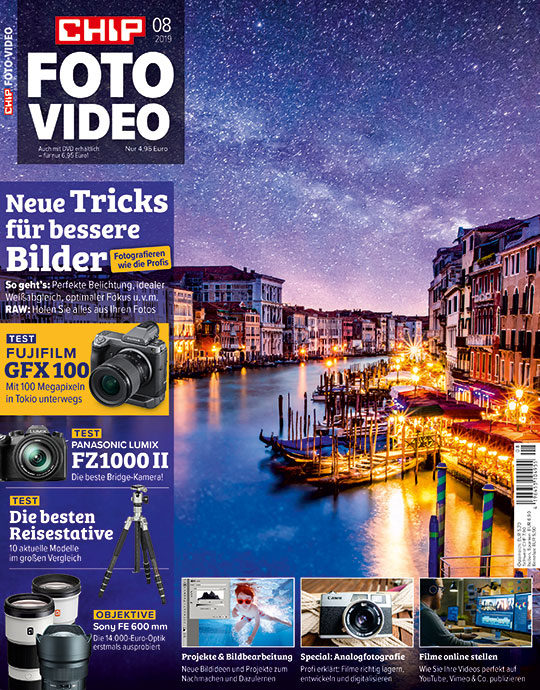 CHIP FOTO-VIDEO Magazin