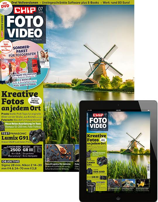 CHIP FOTO-VIDEO mit DVD Kombi